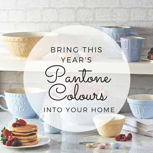 Bring This Year's Pantone Colours Into Your Home