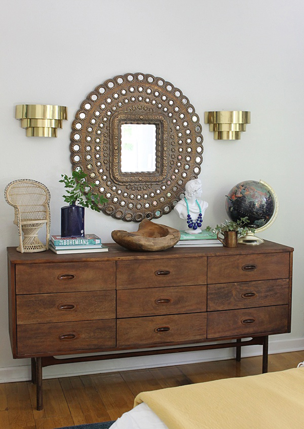 How To Style A Sideboard Like The Pros By Kimberly Duran The Oak Furniture Land Blog