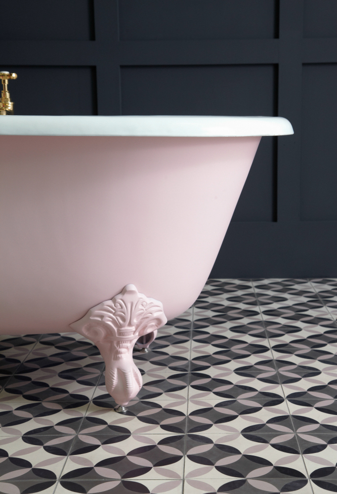 Mylands Floris No.27 on Petite Millbrook from The Cast Iron Bath Company