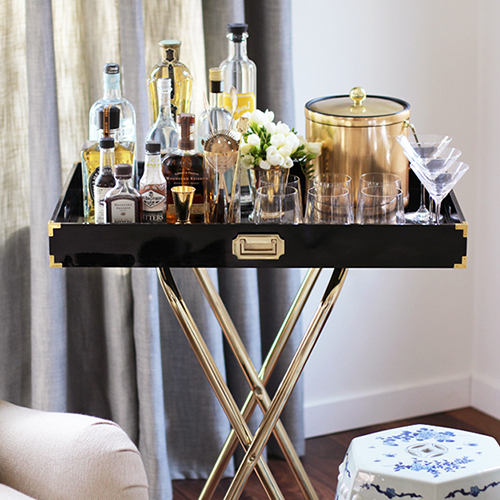 7 Items You Need For The Perfect Bar Cart Style