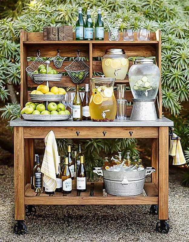 Cart & Shelf