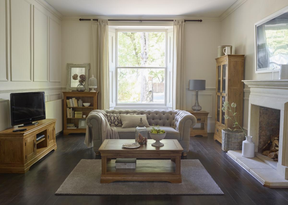 Product spotlight tv cabinet the oak furniture land blog for Living room designs with oak furniture