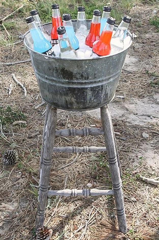 Stool & Bucket