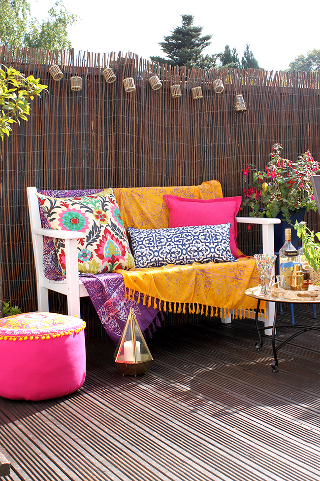 Eclectic Backyard Boho