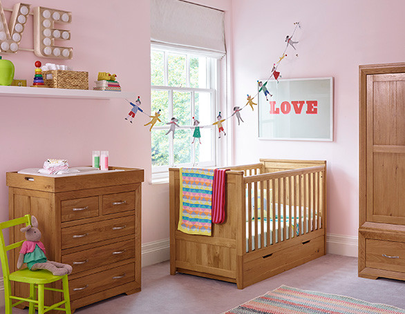 Colourful Nursery with Bevel Furniture