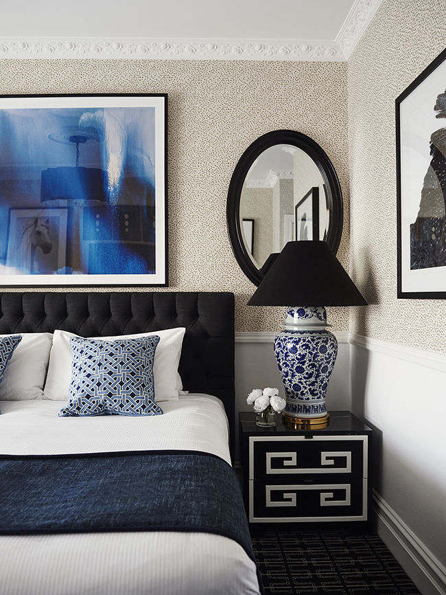 Hotel Chic Style Bedroom