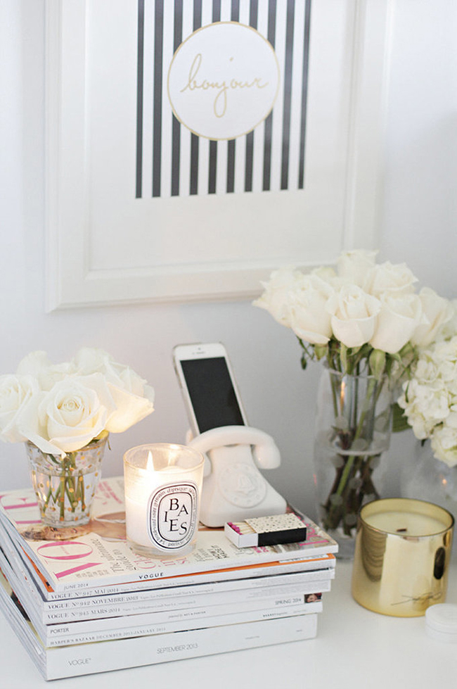 Bedroom Bedside Table: How To Kit Out Your Guest Bedroom By Kimberly Duran