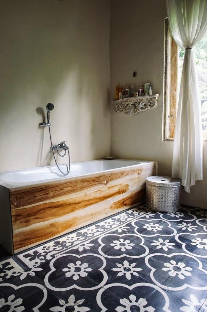 beautiful tiles in a bathroom