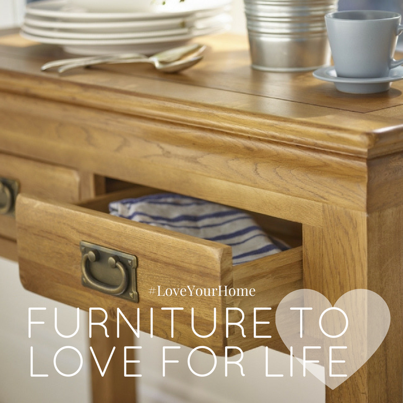 Solid Oak Furniture To Love For Life, Furniture To Love