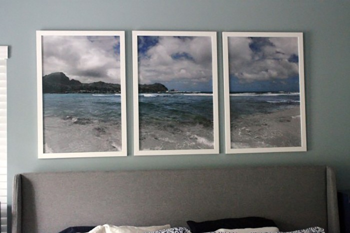 How to Create a triptych by Charleston Crafted