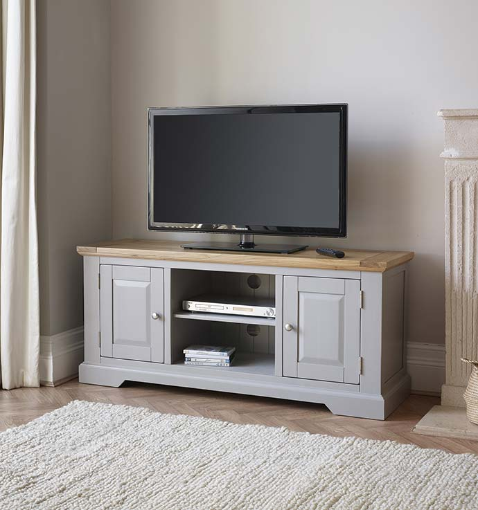 st ives tv cabinet by oak furniture land