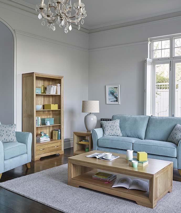 bevel sold oak range by oak furniture