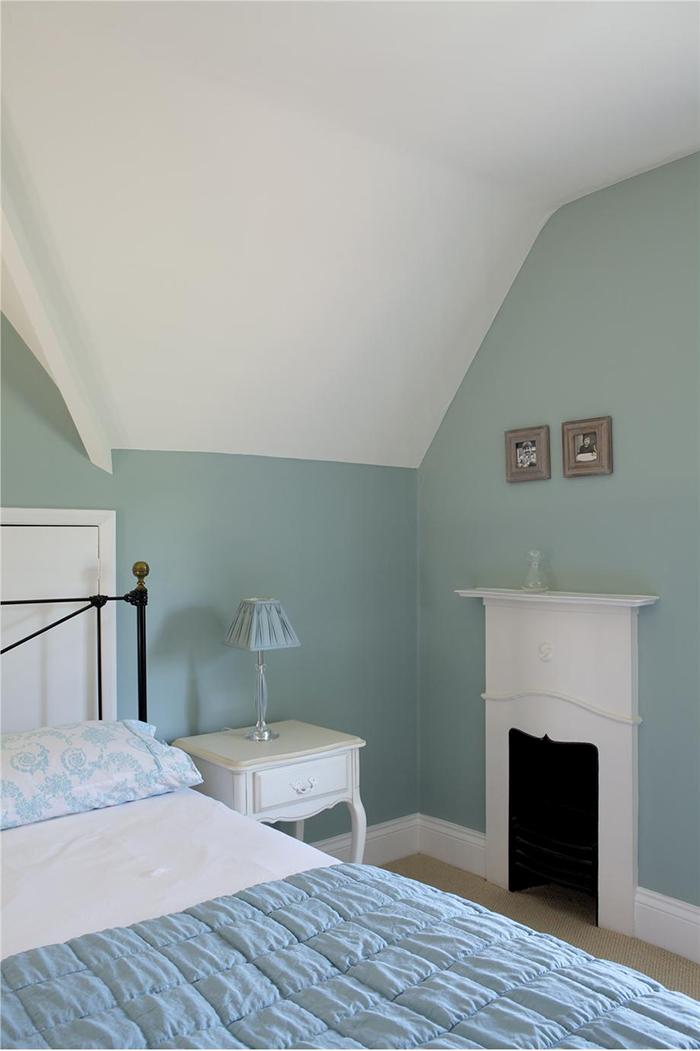 Idée de peinture bleu canard par housse de france