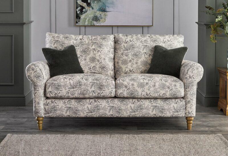 Bramble patterned sofa