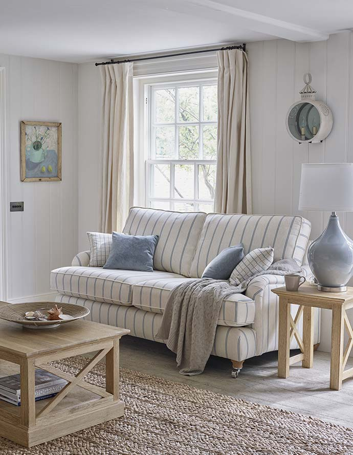 nautical sofa with coastal furniture