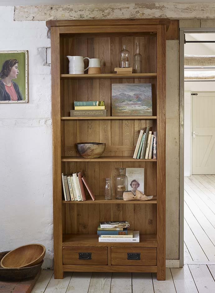 original rustic bookcase