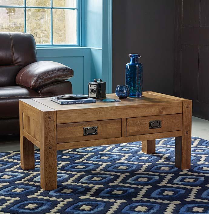 quercus coffee table