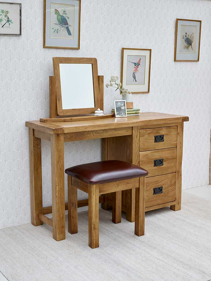 original rustic dressing table