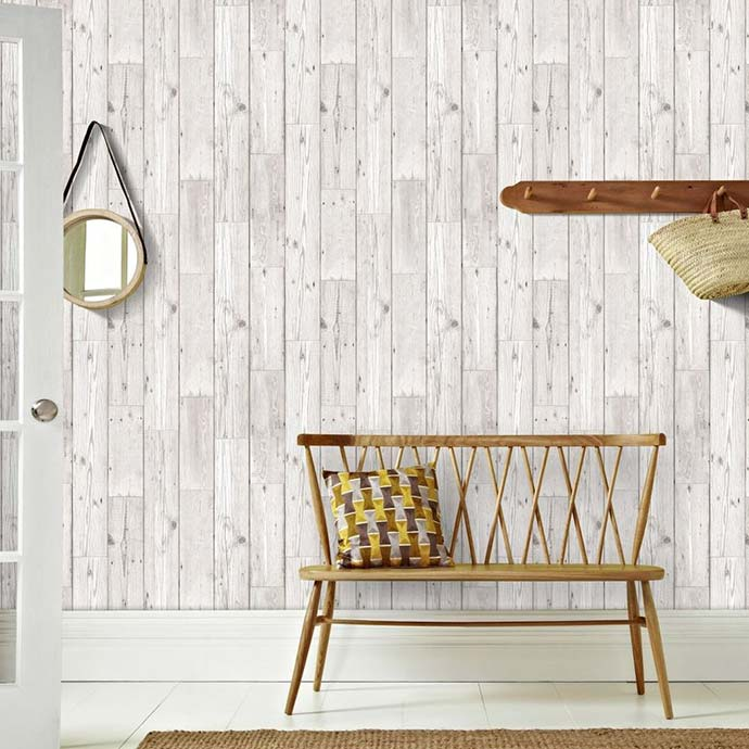 wood plank wallpaper from graham & brown