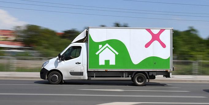 removals van