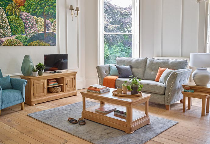new canterbury collection from oak furniture land
