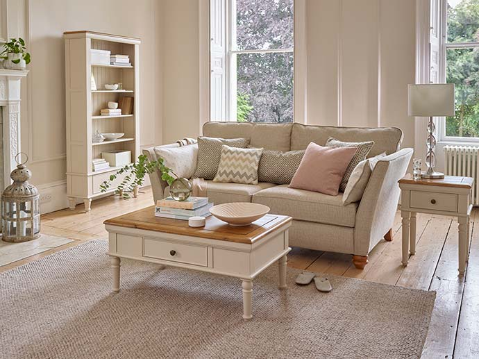 shay coffee table from oak furniture land