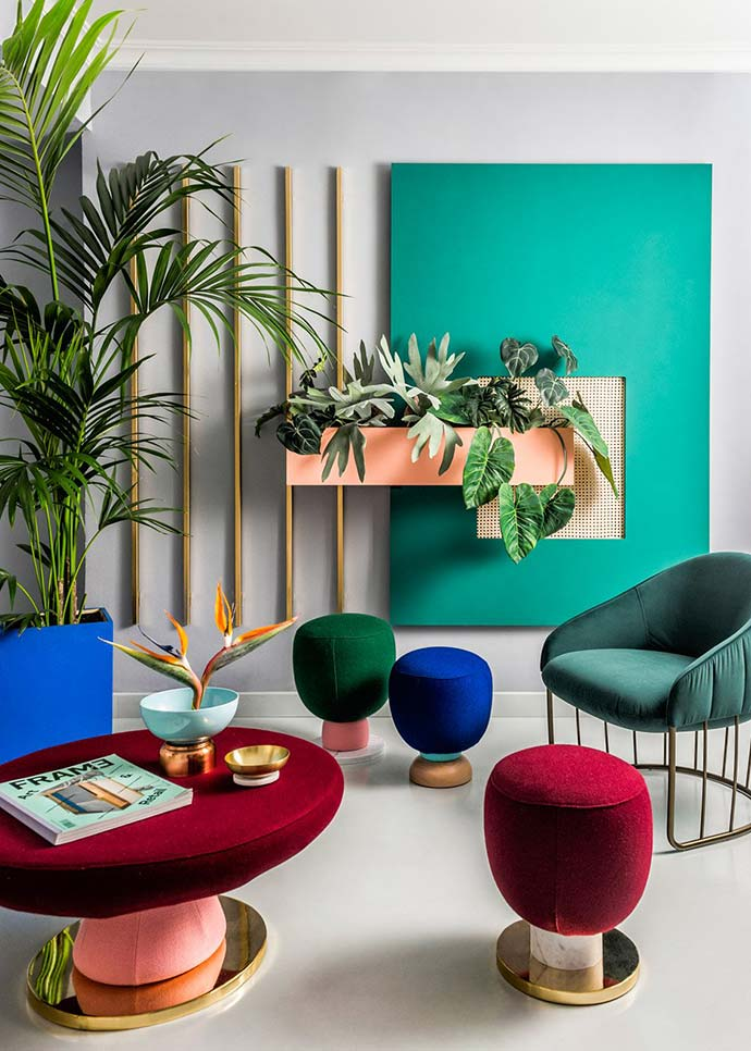 rich jewel-toned interior design