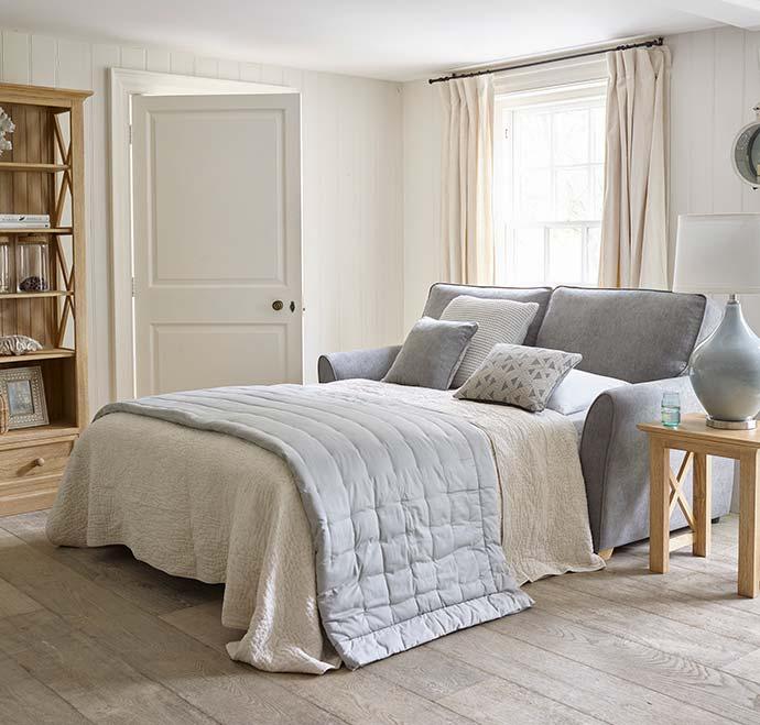 oak furniture land sofa bed in living room