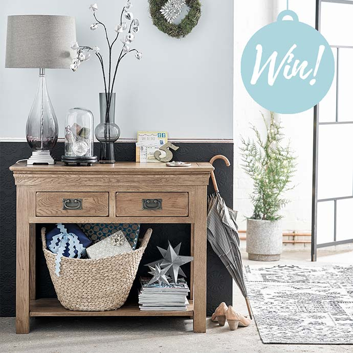 french farmhouse console table competition