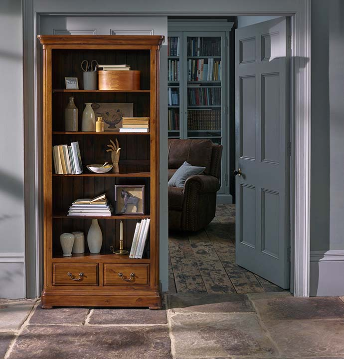 cranbrook dark wood bookcase