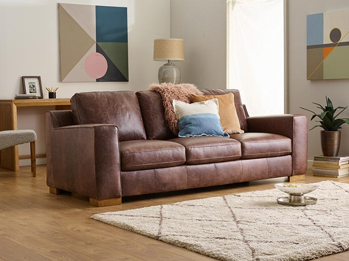 leather marco sofa