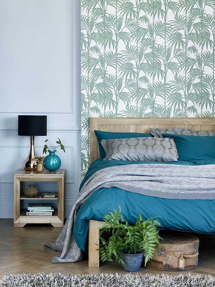 bevel solid oak double bedroom