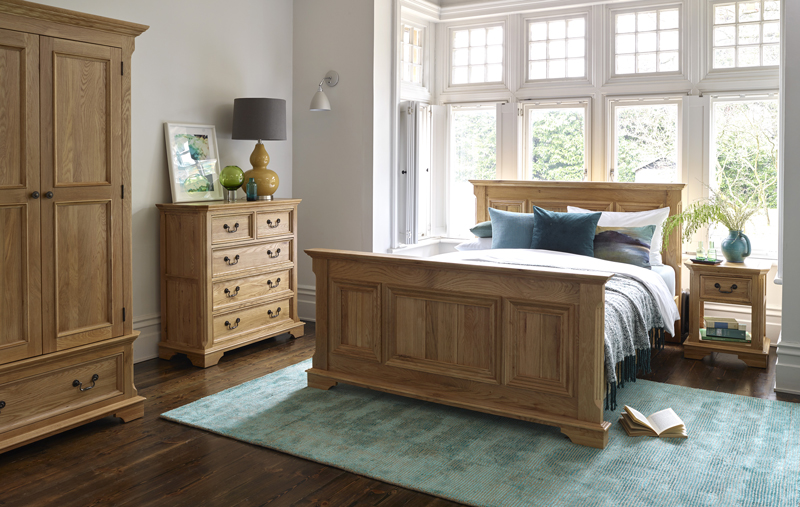 Edinburgh Bedroom range, green accessories