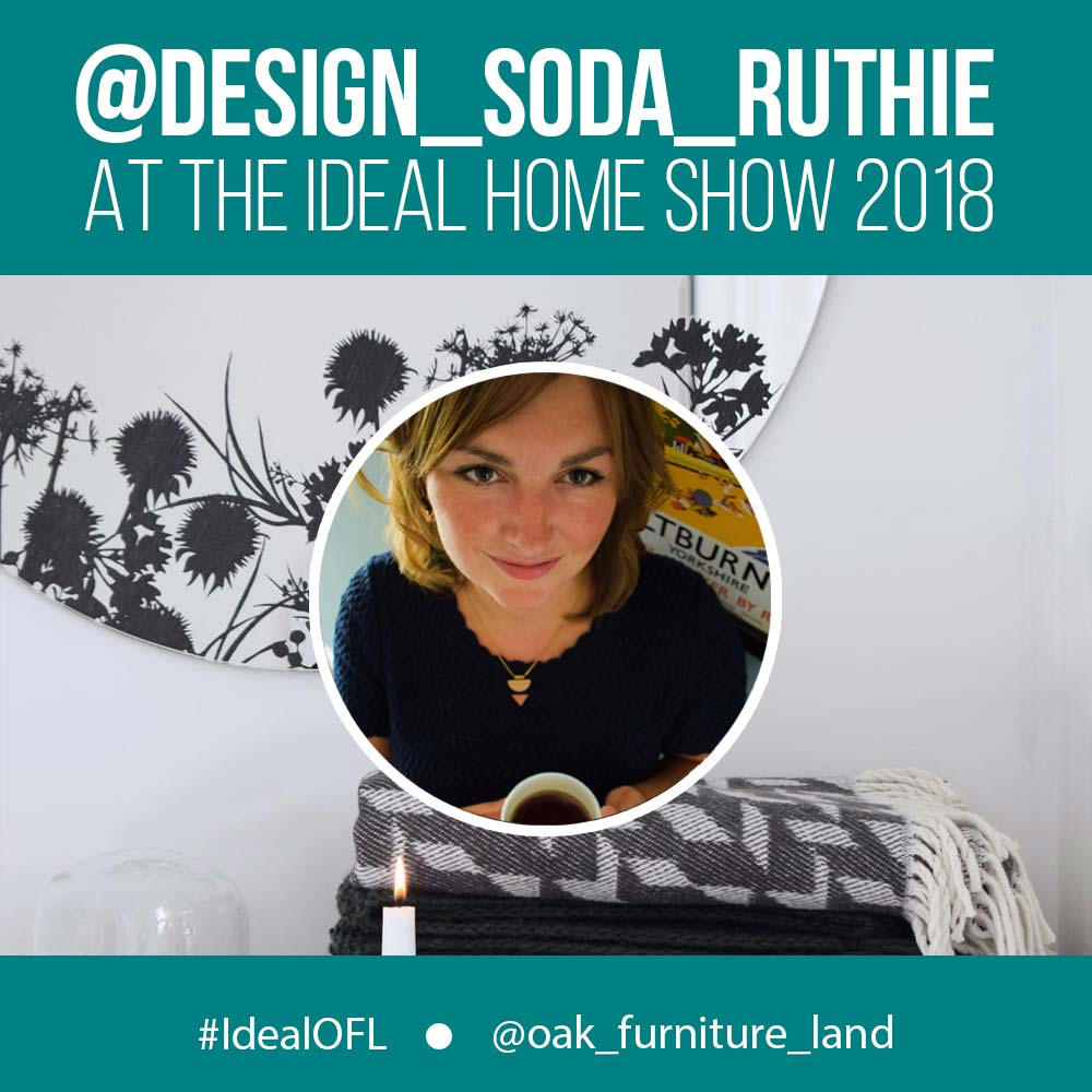 design soda day at the ideal home show with oak furniture land