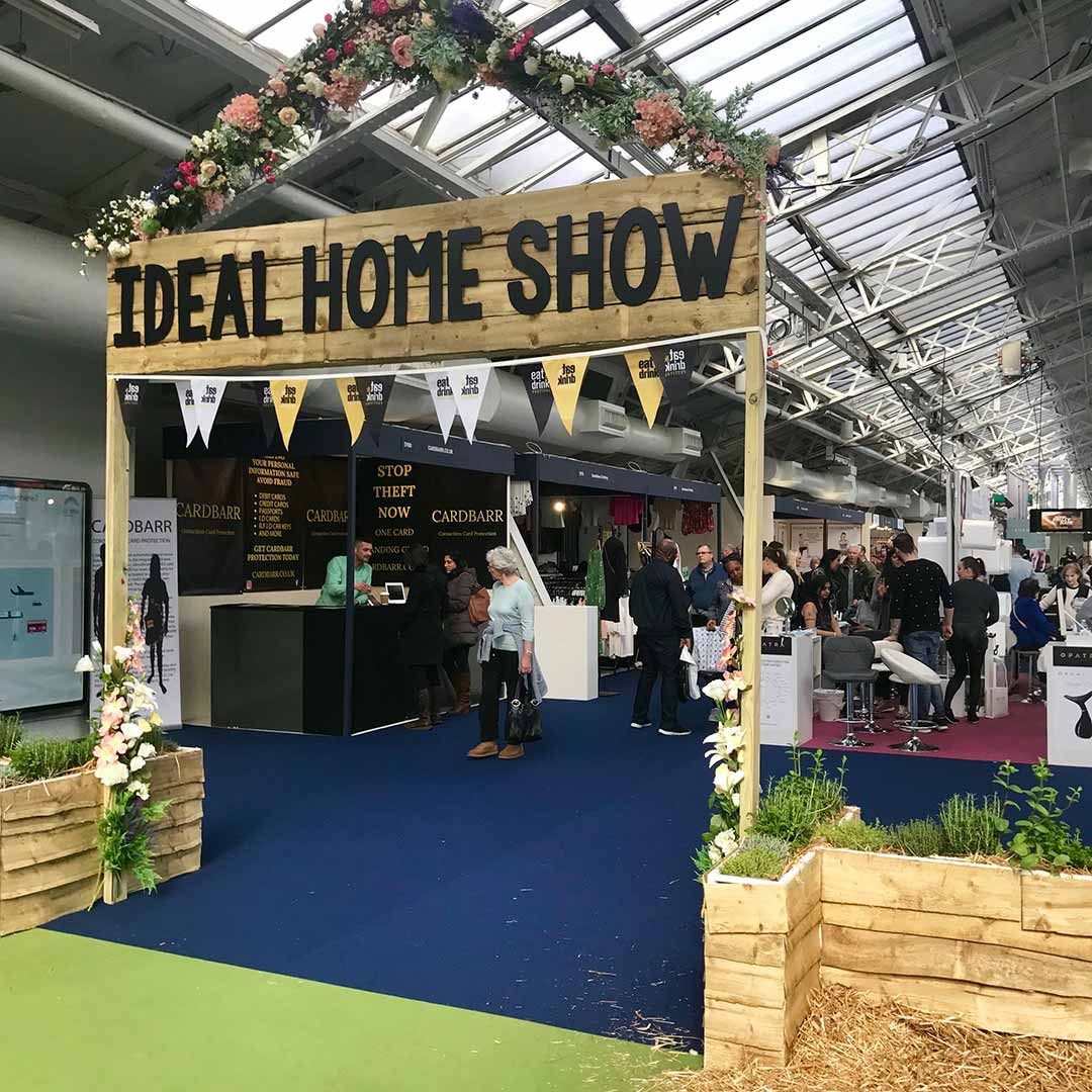 ideal home show second entrance