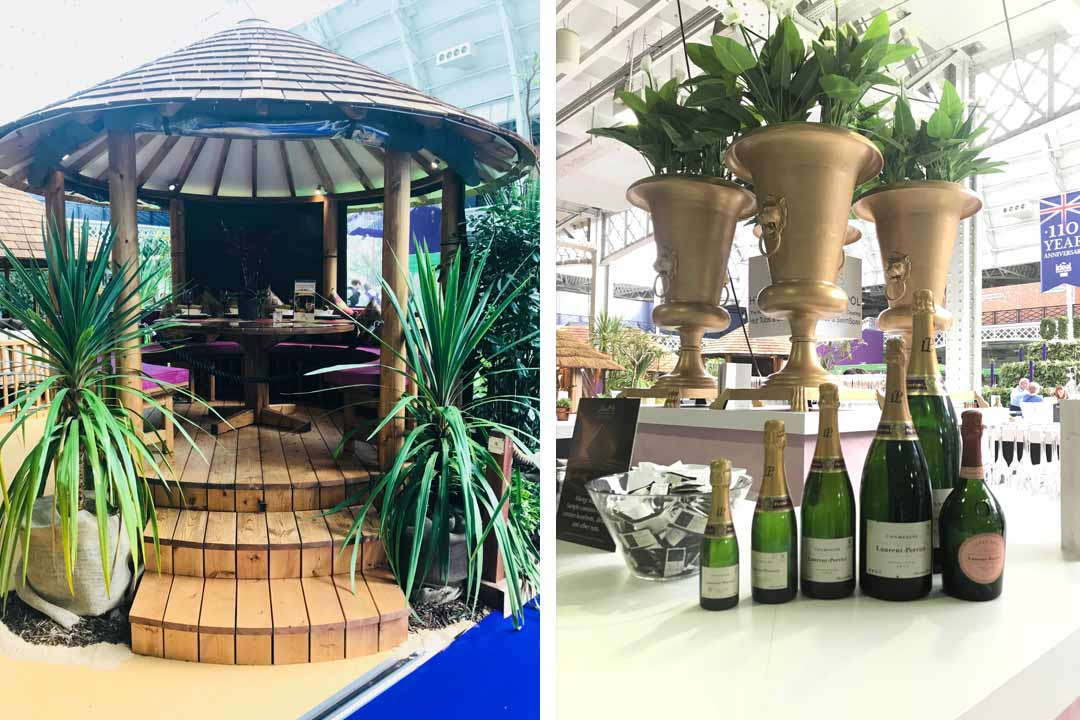 garden products at the ideal home show