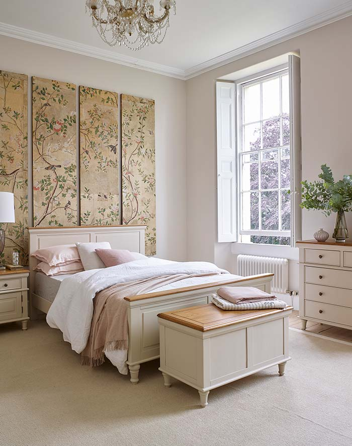 chinoiserie florals with shay bedroom