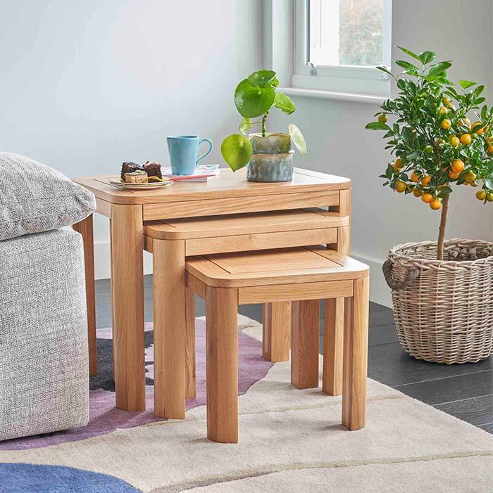 romsey range nest of tables
