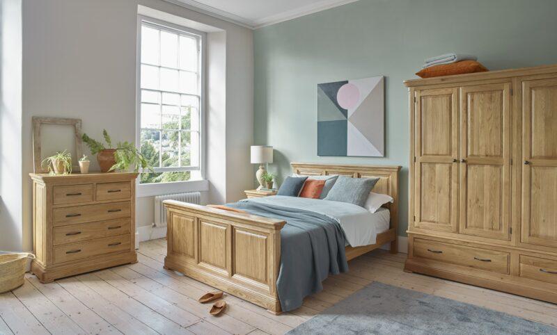 Canterbury range bedroom