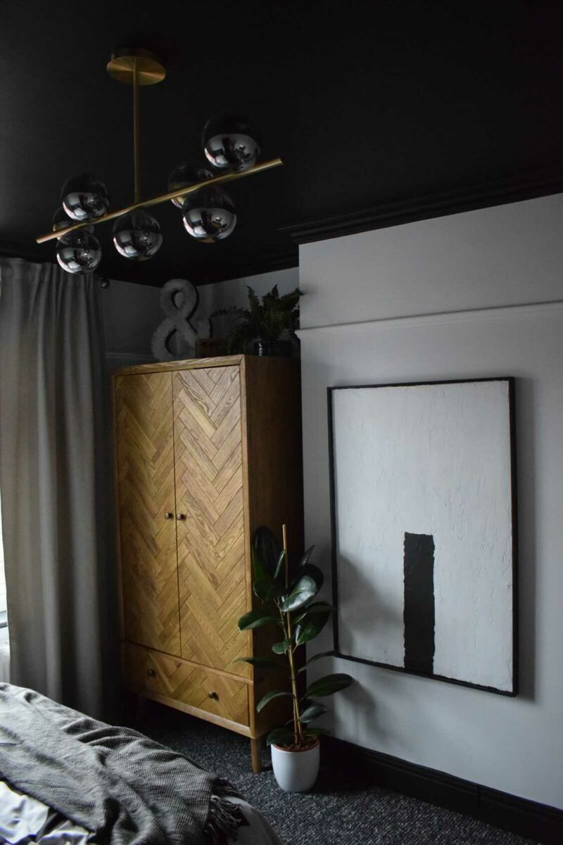 Parquet Oak double wardrobe