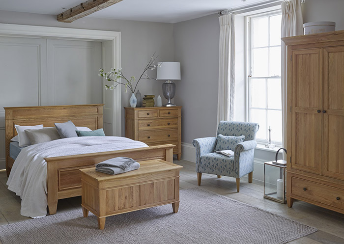 oak furniture land bedroom range