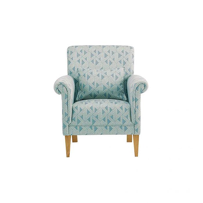 Jasmine Blue Armchair