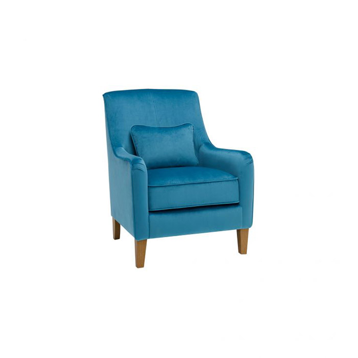 Sydney Accent Chair in Cerulean