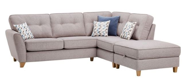 Memphis sofa in grey