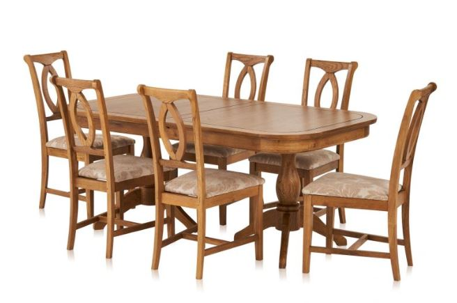 Crawford wooden dining set