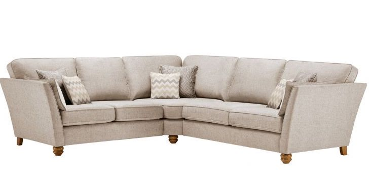 Oak Furnitureland Gainsborough Corner Sofa