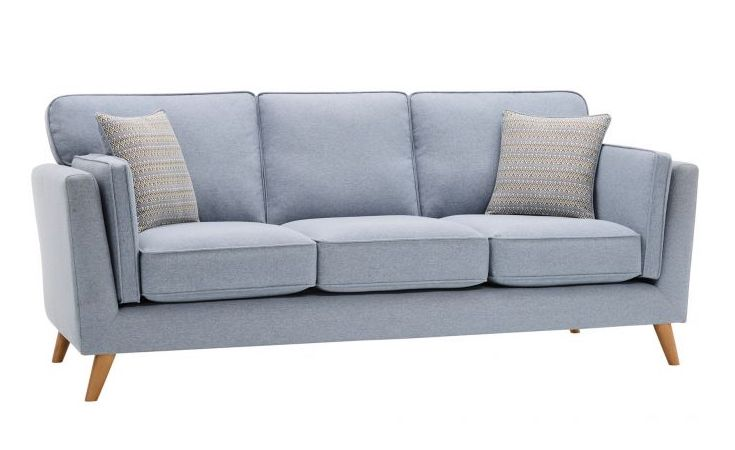 Oak Furnitureland Cooper Three Seater Sofa