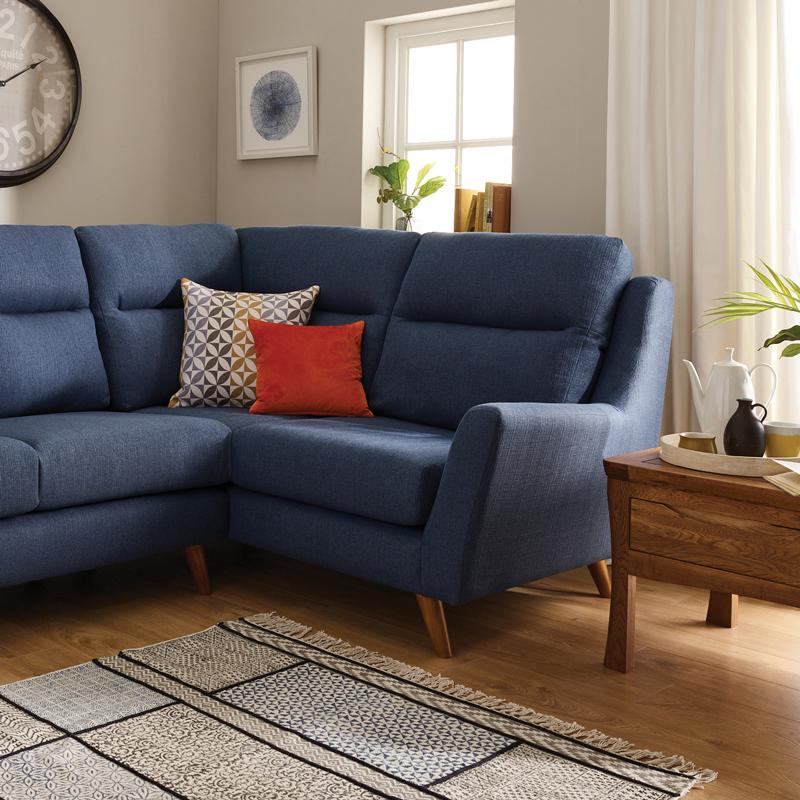 Blue Fraser Sofa