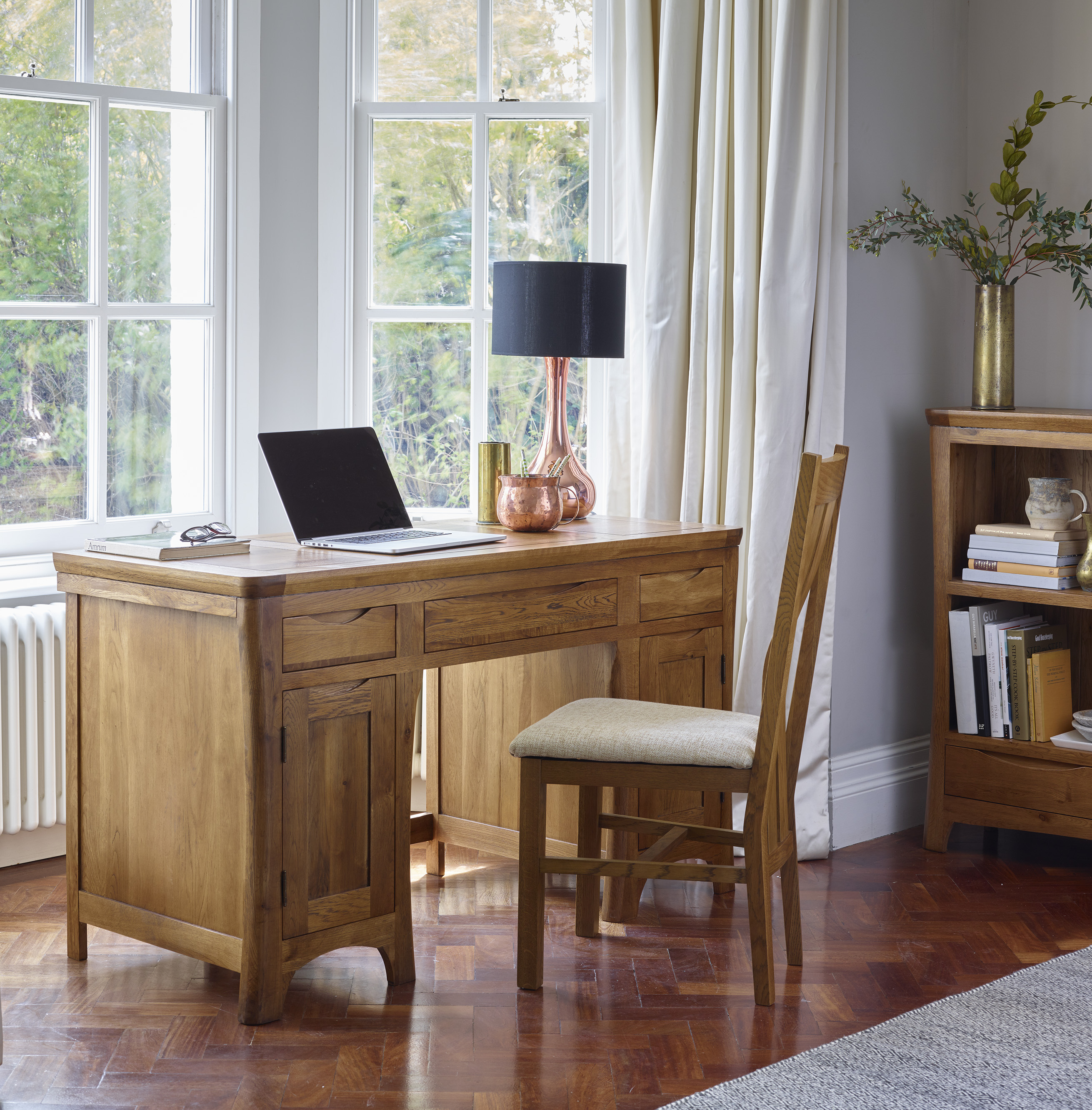 Black Friday Desk Oak Furnitureland