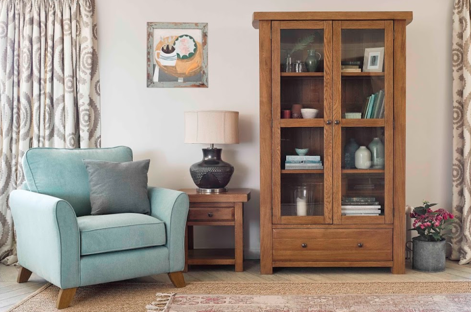 Oak Furnitureland Reading Corner